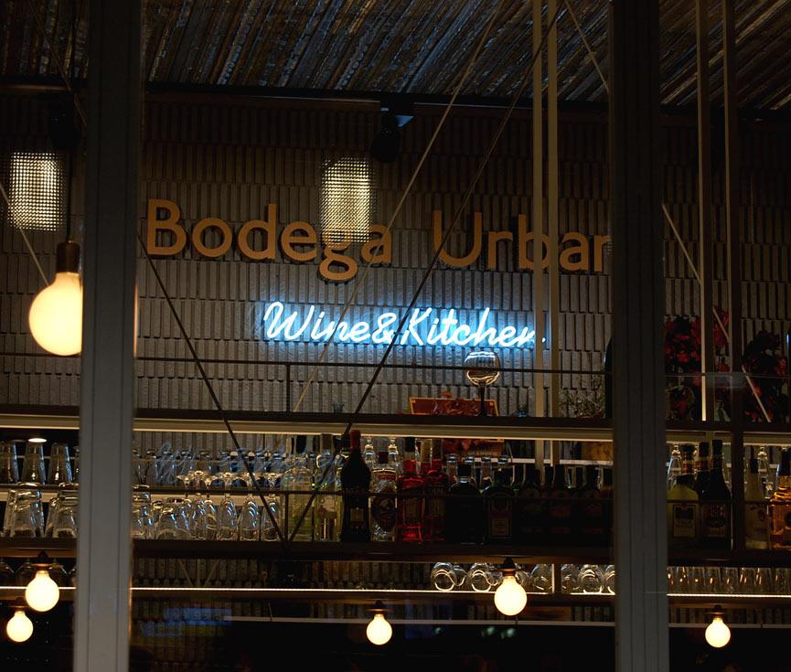 Control iluminación Bodega Urbana