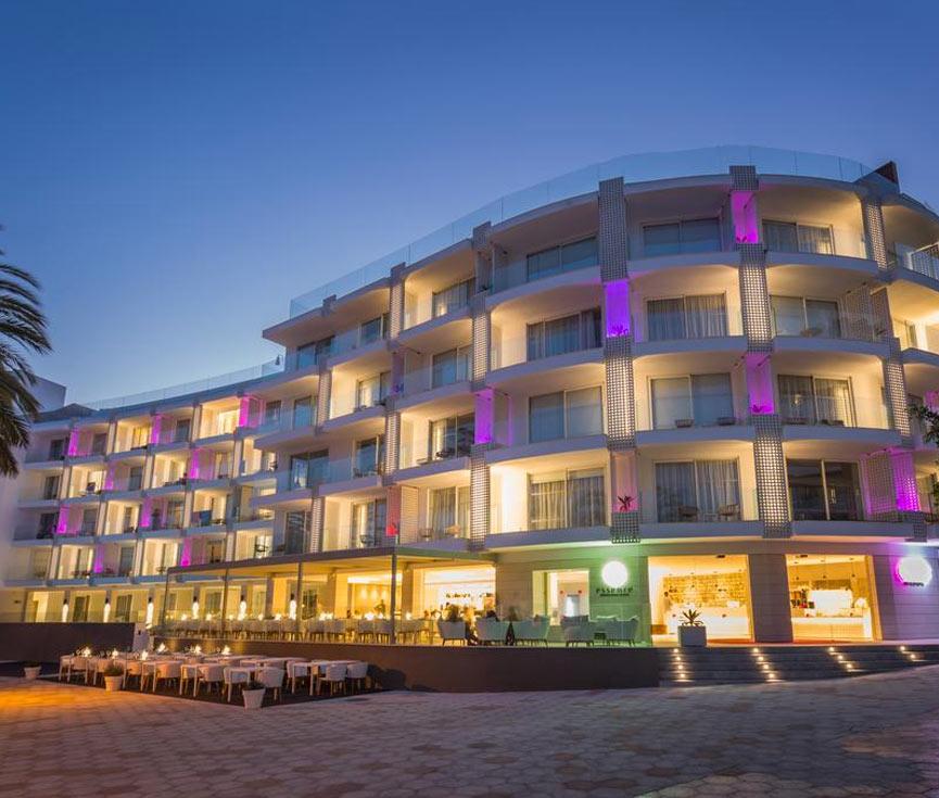 Control iluminación Hotel One Suites Ibiza