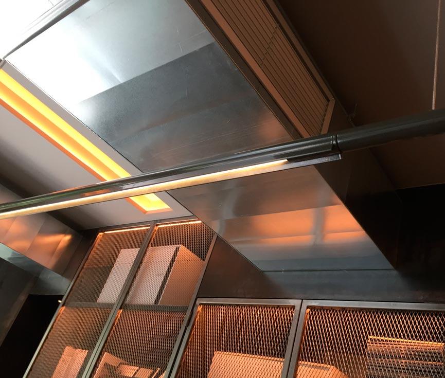 Detalle iluminación proyecto JD7
