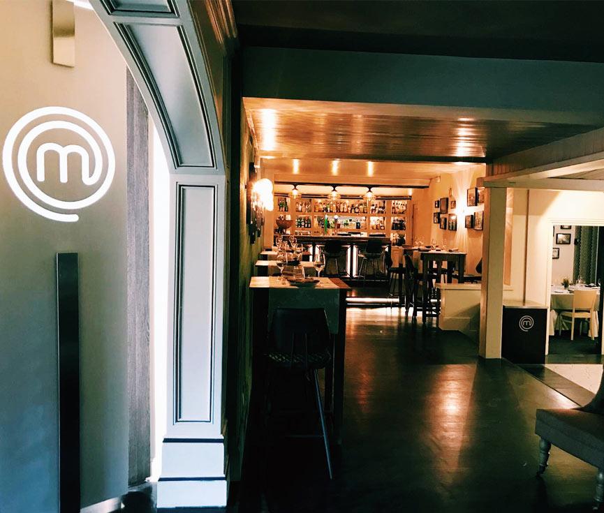 Control iluminación restaurante Masterchef