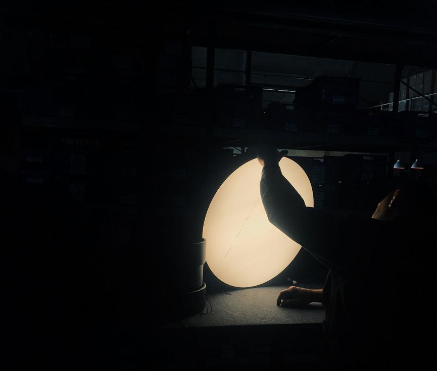 Control de iluminación Altadis