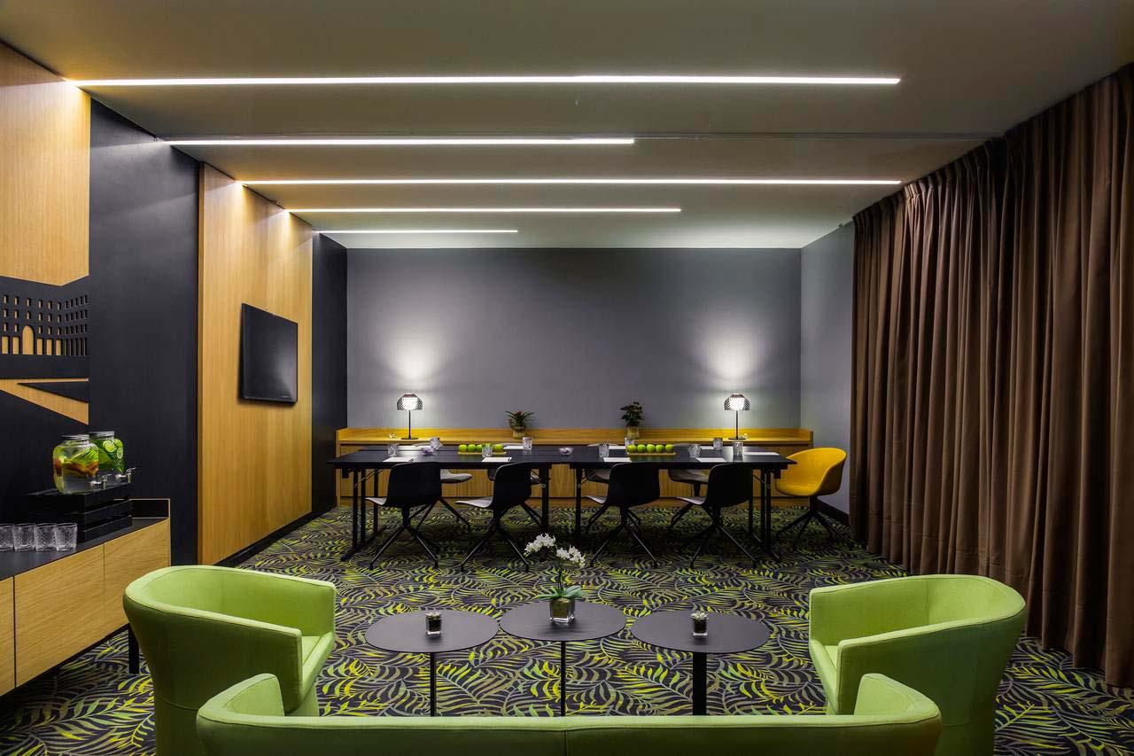 Control iluminación hotel Mercure