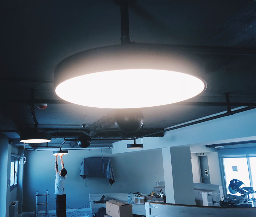 Diseño instalación iluminación Altadis