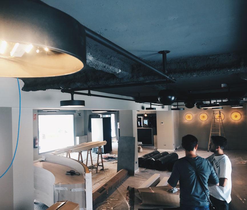 Instalación iluminación Altadis