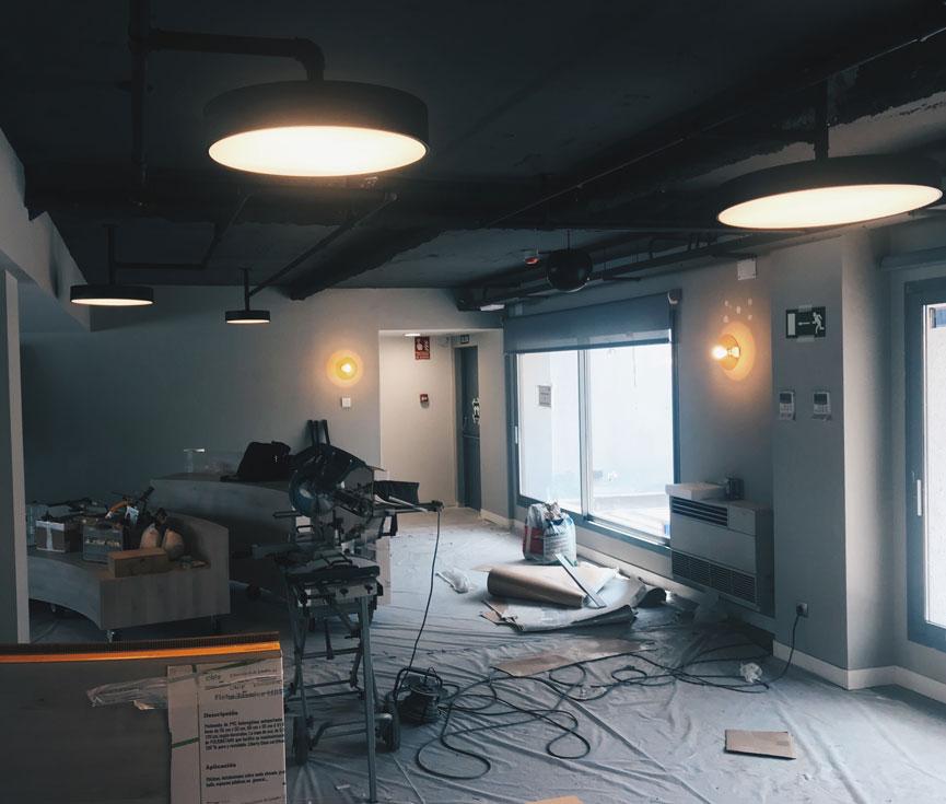 Proyecto instalación iluminación Altadis