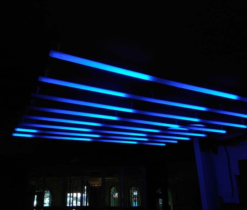 Diseño sistema control iluminación Madrid