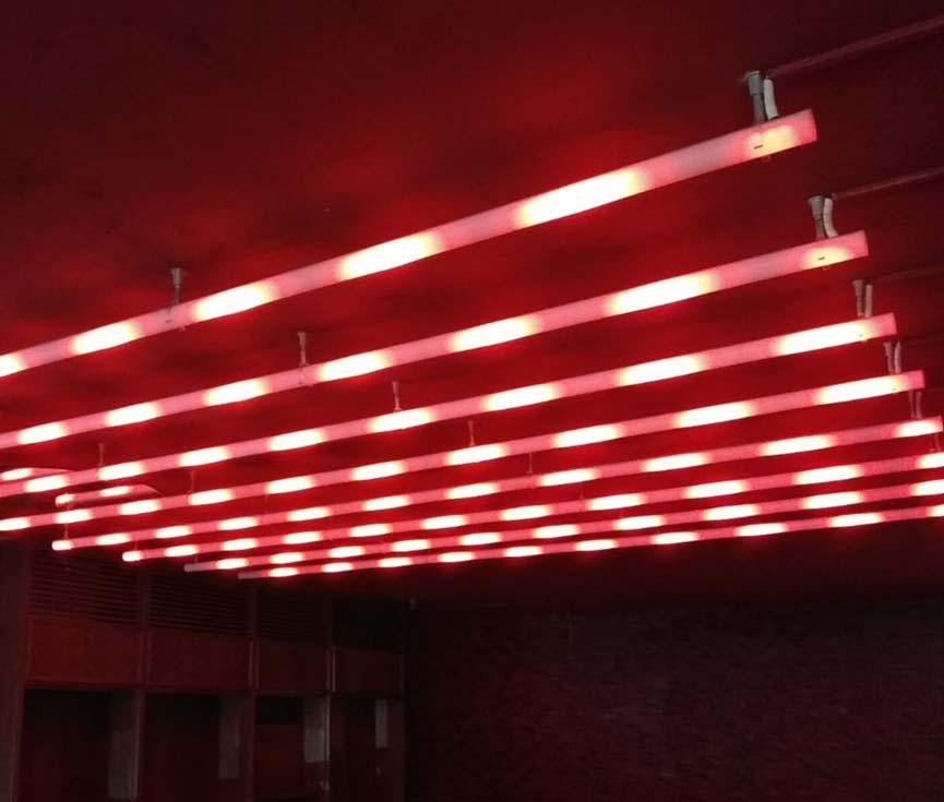 Diseño sistema control iluminación restaurante Madrid