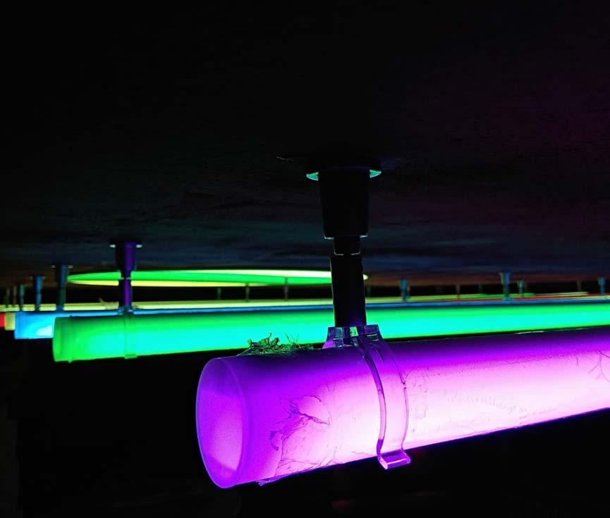 Diseño sistema control iluminación restaurante