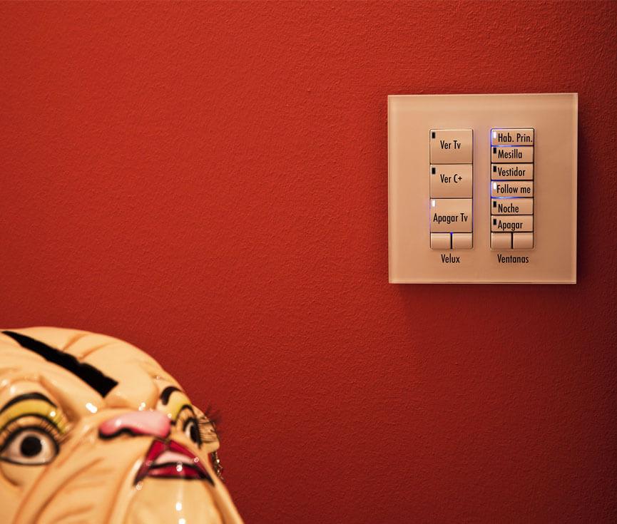 Sistema de control loft Madrid