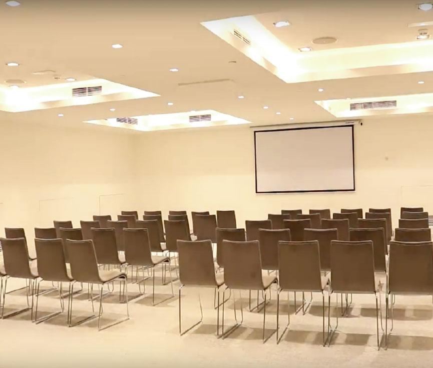 Proyecto control iluminación sala reuniones Hotel ME Madrid