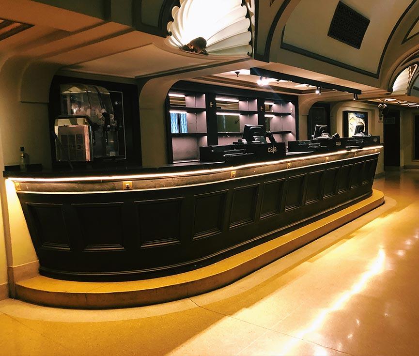 Control iluminación teatro Lope de Vega