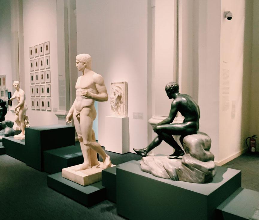 Configuración escenas Museo