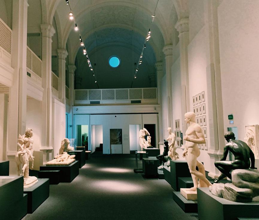 Control regulación iluminación Museo