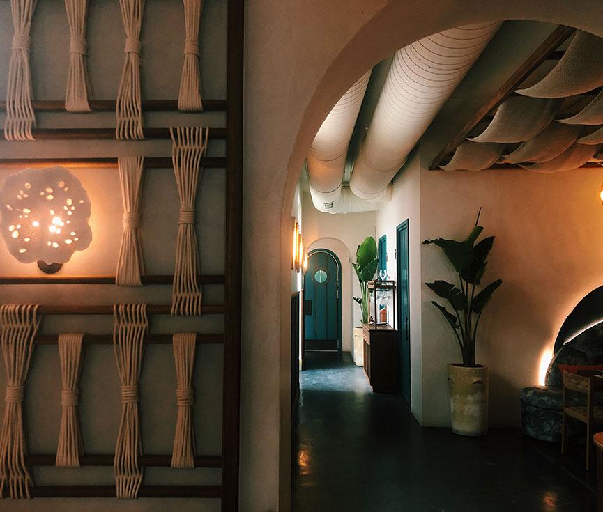 Restaurante Barracuda control iluminación