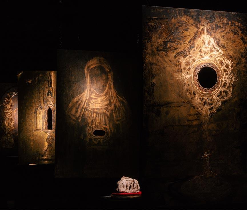Regulación iluminación arte museo