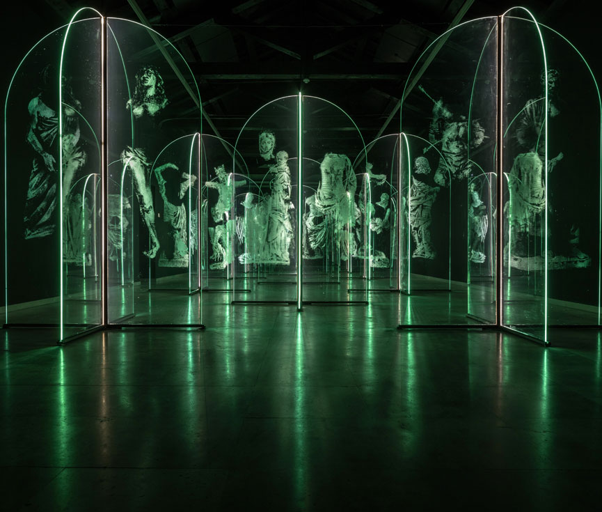 Regulación iluminación arte