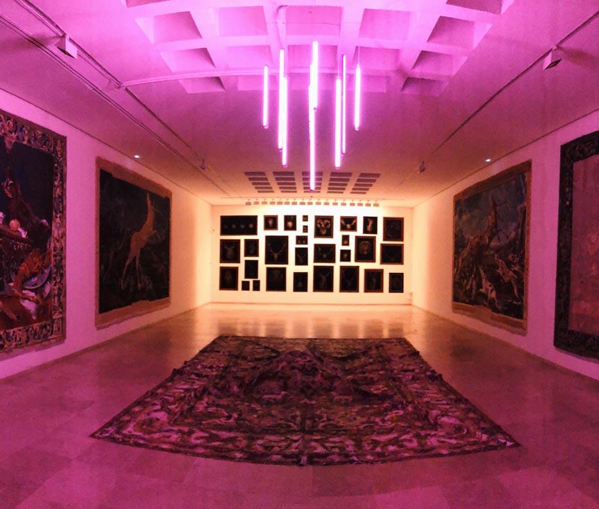 Sala caza museo Segovia