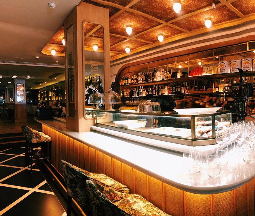 Control iluminación restaurante Castizo
