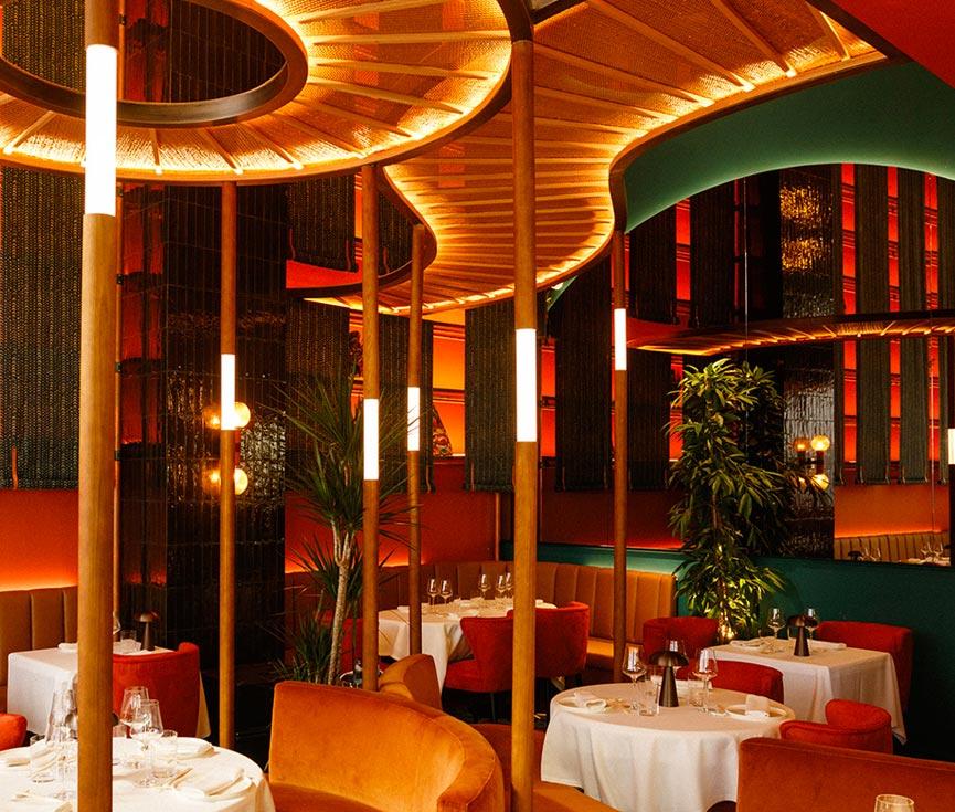 Instalación iluminación restaurante Baan